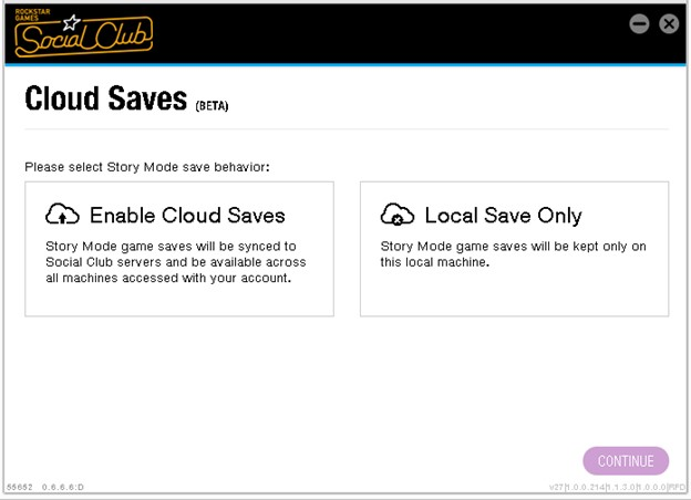 GTAV PC Cloud Saves - Rockstar Games Customer Support